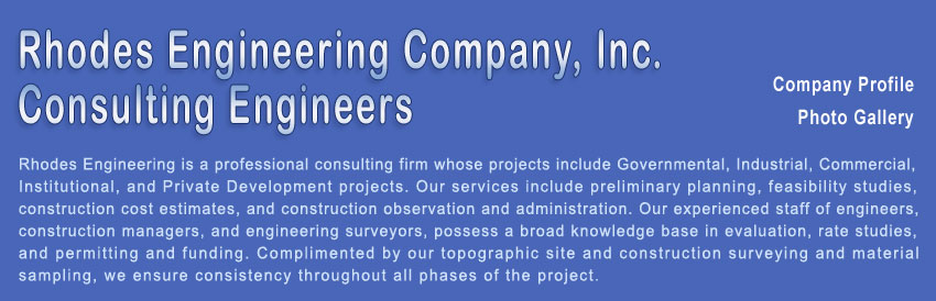 Rhodes Engineering Company, Inc. professional construction consulting firm